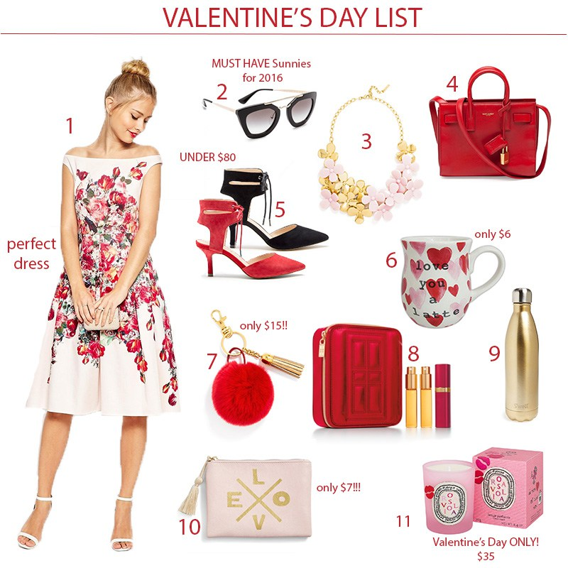 Valentine's Day List