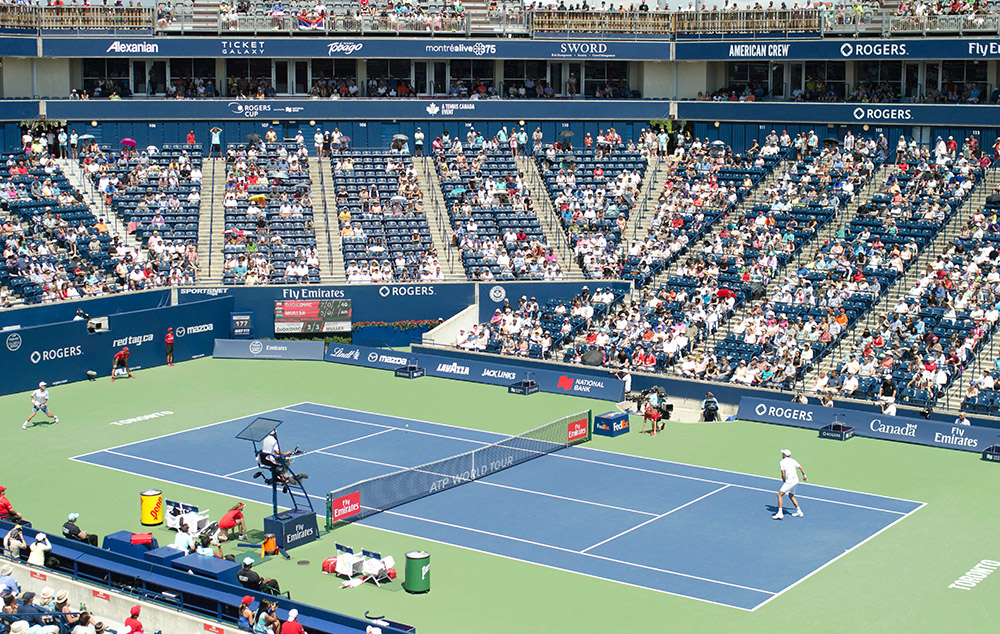 national bank of canada, rogers cup, djokovic, semi-final match rogers cup