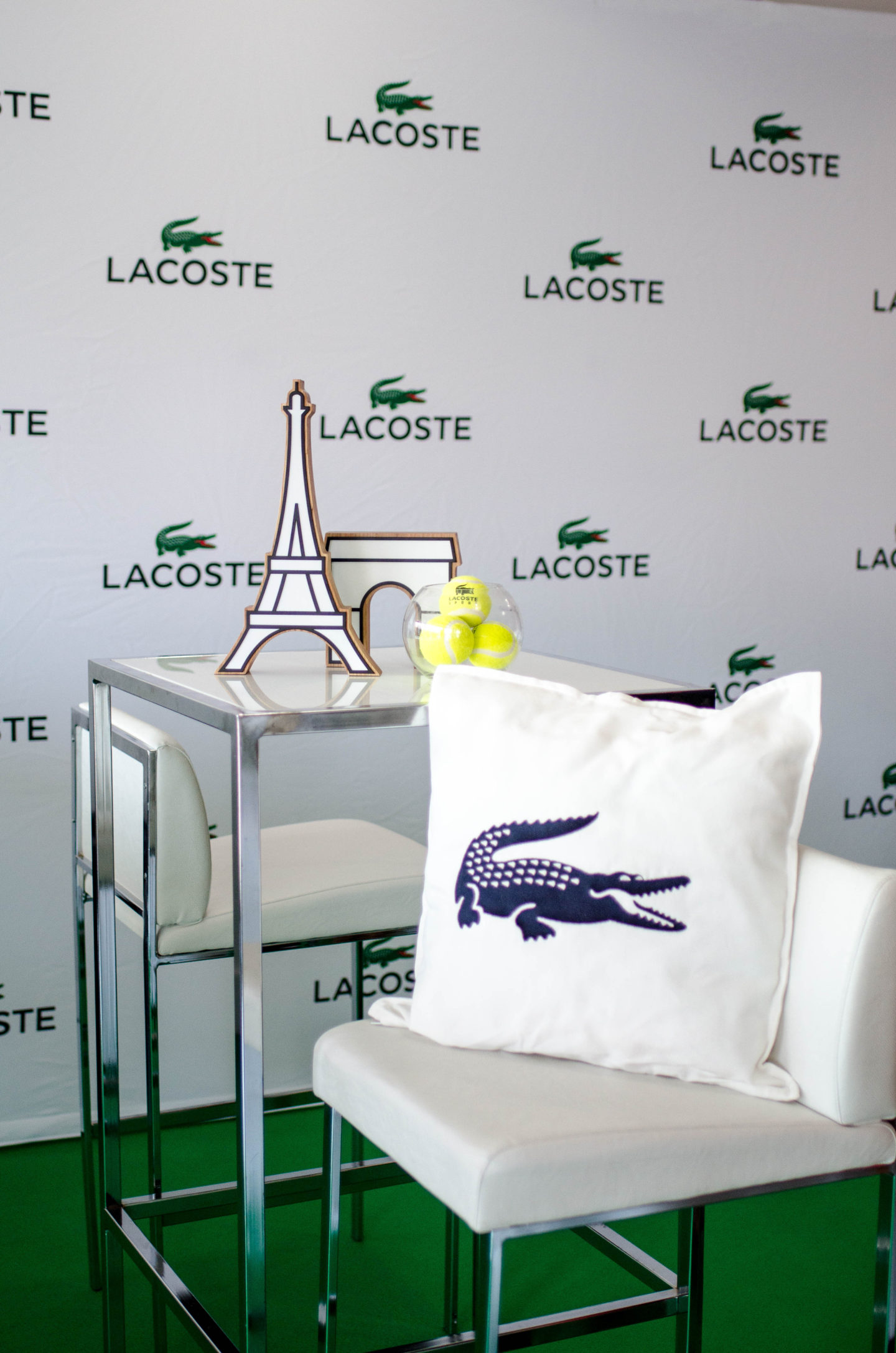 ENJOYING THE SUITE LIFE WITH LACOSTE
