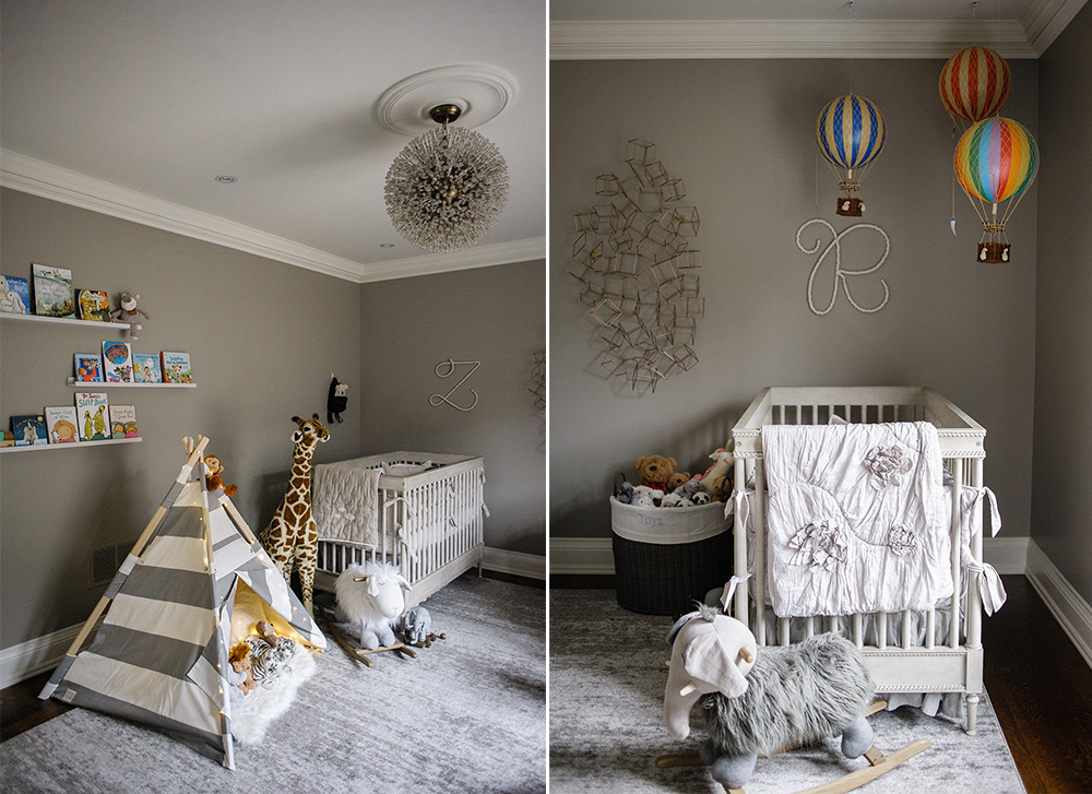 nursery, how to decorate a nursery for twins, nursery for twins, restoration hardware, restoration hardware baby and child, the little animal print shop