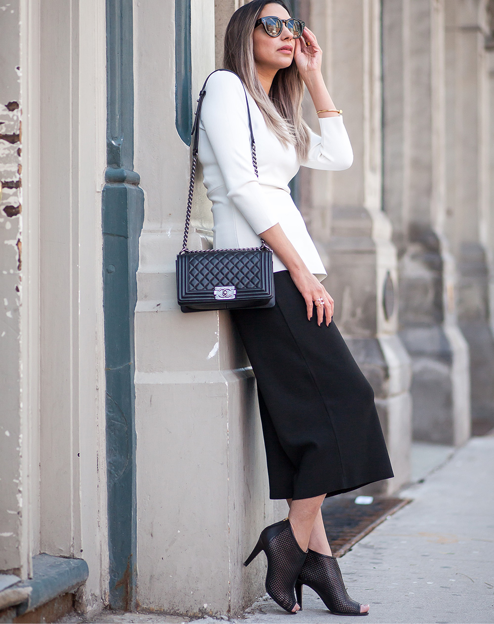Zara, How to style black and white, Chic in monochrome, Style blogger, influencer in style, Loosing pregnancy weight