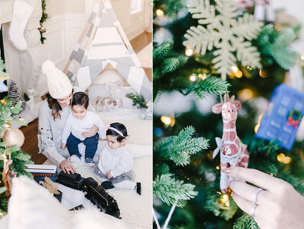 Christmas Home Tour, Classic Christmas Home, Elegant Christmas Home, Luxe Christmas Home, Luxe Christmas Decor, Perfect Mantle Decor, West Elm Christmas Ornament, West Elm Fair Trade