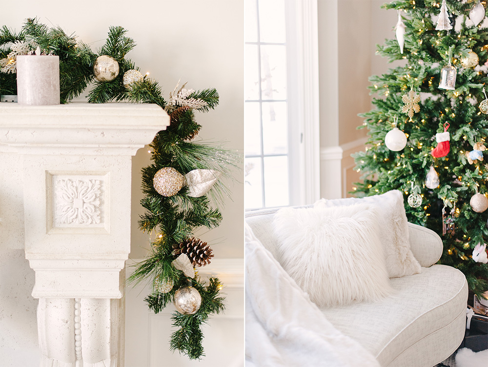Christmas Home Tour, Classic Christmas Home, Elegant Christmas Home, Luxe Christmas Home, Luxe Christmas Decor