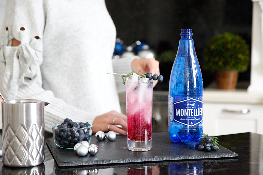 Montellier, Drink Recipe, Super Easy Drink Sparkling Water Recipe