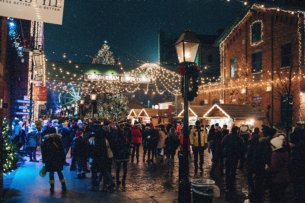 Toronto Christmas Market, Distillery District