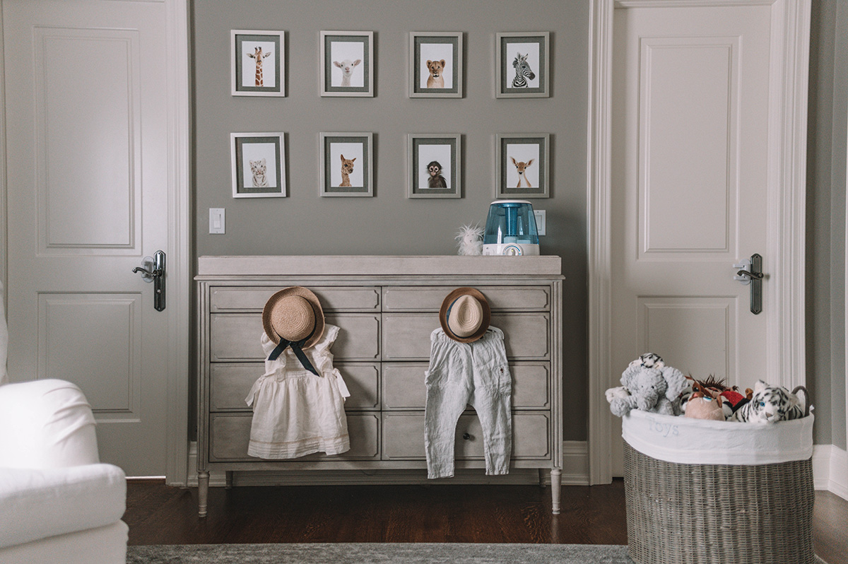 Braun Vicks, The Grey Canvas Nursery