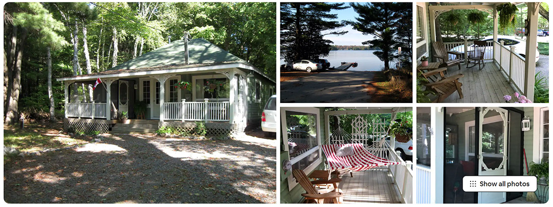 airbnb, cottage in ontario, cottage in muskoka for cheap